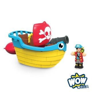 【WOW TOYS】洗澡玩具 海盜船 皮普