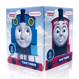 【美國熱銷卡通 Thomas&Friends】盒裝面紙(85抽)