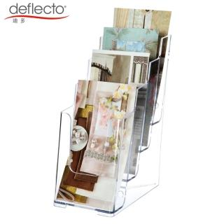 【deflect-o】四層高背目錄架-A5 77901(目錄架)