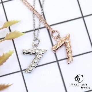 【日本 凱斯特 CASTER】幸運之星 時尚銀項鍊 防抗過敏 SUS316L頂級不鏽鋼飾品