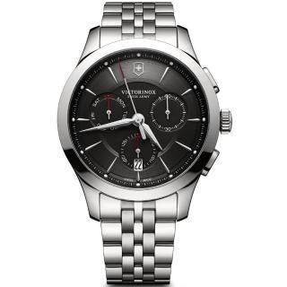 【VICTORINOX 瑞士維氏】Alliance Chronograph 計時腕錶(VISA-241745)