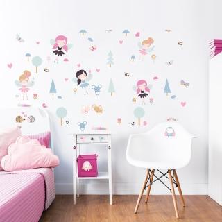 【英國Walltastic】英國Walltastic童趣壁貼-花仙子