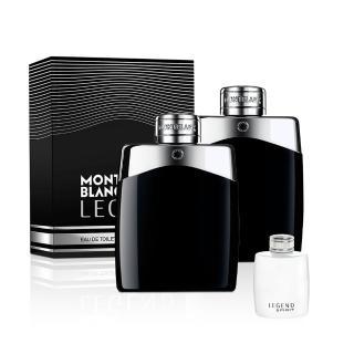 【MONTBLANC 萬寶龍】買一送一-傳奇經典男性淡香水100ml(加贈小香乙瓶)