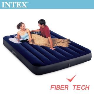 【INTEX】經典雙人_新款FIBER TECH_充氣床墊-寬137cm(64758)
