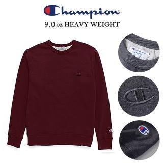 【Champion】冠軍美規CHAMPION內領配色S0888重磅電繡大學服 有吊牌