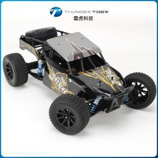 【Thunder Tiger雷虎科技】JACKAL 1/10 4WD 無刷動力 沙漠越野競卡RTR 黑 6544-F112(攀岩車)