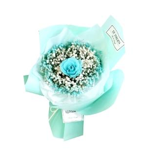 【LJ.Flower 詩意花園】永生玫瑰花束1加1(5款可選)