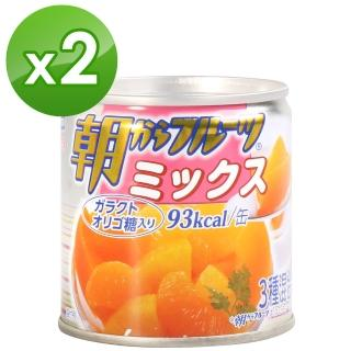 【hagoromo】朝食水果罐-綜合(190g*2入)