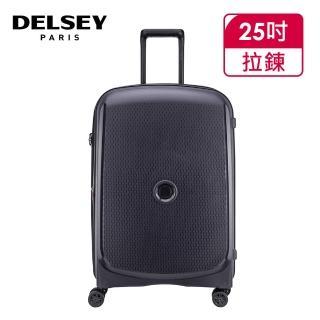 【DELSEY 法國大使】BELMONT PLUS-25吋旅行箱-鐵灰(00386182001)