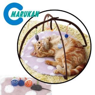 【Marukan】貓咪點點遊戲毯(CT-484)