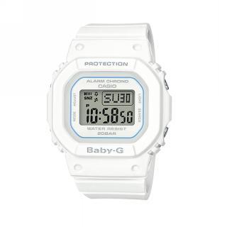 【CASIO 卡西歐】BABY-G 街頭時尚系列/40mm/白(BGD-560-7)