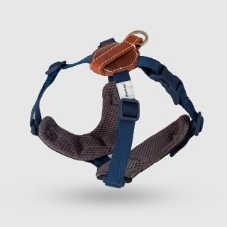 【SPUTNIK 斯普尼克】EXPLORE 寵物胸背帶Harness(藍色S+)