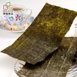 【得倫食品】一片珍情芥末燒海苔39g(團購人氣商品)