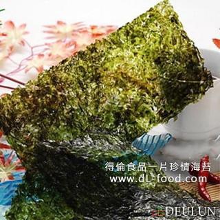 ~得倫食品~韓式味付岩燒海苔~辣味40g  NO.1