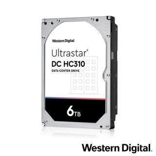 【Western Digital】Ultrastar DC HC310 6TB 3.5吋企業級硬碟(HUS726T6TALE6L4)