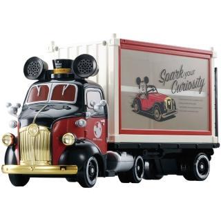 【TOMICA】迪士尼小汽車 米奇紀念貨櫃收納車(小汽車)