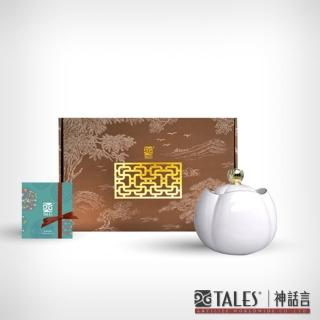 【TALES 神話言】花窗舞影-冰玉丁香.茶倉 小(文創 禮品 禮物 收藏)