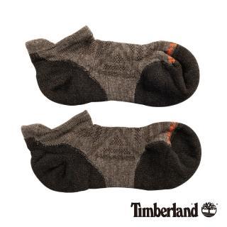 【Timberland】男款灰褐色短襪(01065236)