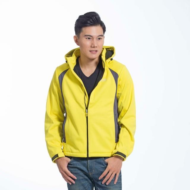 【遊遍天下】男款GlobeTex防水透濕防風刷毛軟殼外套GJ23006