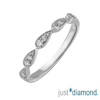 【Just Diamond】18K金 鑽石戒指-Shining Heart