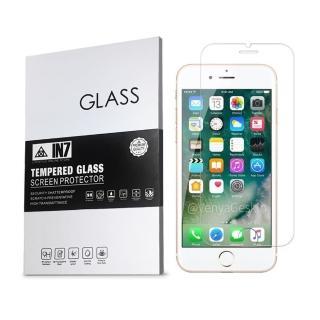 【IN7】APPLE iPhone 7/8 4.7吋 半版 高透光 2.5D 鋼化玻璃保護貼(疏油疏水 鋼化膜 非滿版)
