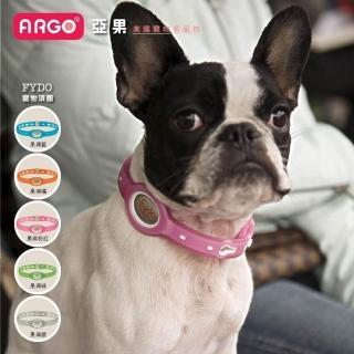 美國領導品牌★ARGO亞果★FYDO寵物果凍項圈透明系列-S號/M號/L號(品牌項圈★設計時髦、科技與環保★)