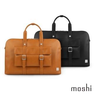 【moshi】Treya Briefcase 超輕量皮革劍橋筆電包