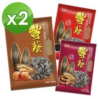 【盛香珍】超級重量包豐葵香瓜子3kg(2袋組焦糖香瓜子)