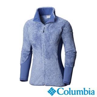 【Columbia 哥倫比亞】女款-防曬抗UV50快排外套-紫色(UEL00580PL / 排汗.襯衫.長袖)