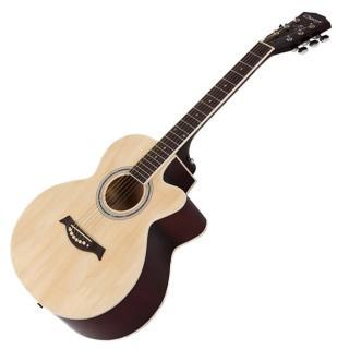 39吋木吉他 不大不小剛剛好(可依個人習慣調整弦距)