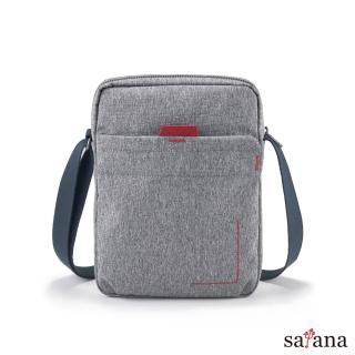 【satana】Fresh 輕職人行動側背包(麻花灰)