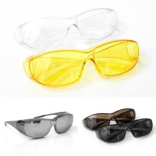 【護目鏡】簡單方型微透色太陽眼鏡(鏡框)/