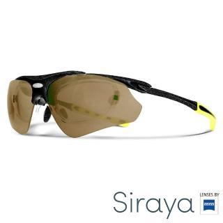 【Siraya】『專業運動』運動太陽眼鏡 棕色鏡片 德國蔡司 DELTA