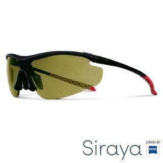 【Siraya】『專業運動』運動太陽眼鏡 綠色鏡片 德國蔡司 ZETA
