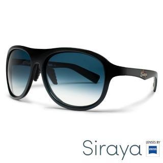 【Siraya】『時尚運動』運動太陽眼鏡 膠框 寬幅 德國蔡司 CAWA 鏡框