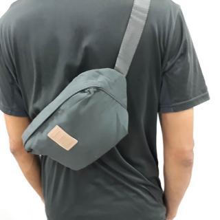 【E.City】旅行多功能防潑水防盜貼身胸包腰包(可當胸包、腰包、斜挎包-大小款任選)/