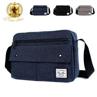 【NEW STAR】日系A4多口袋側背包斜背包包 BL158(側背包 斜背包)
