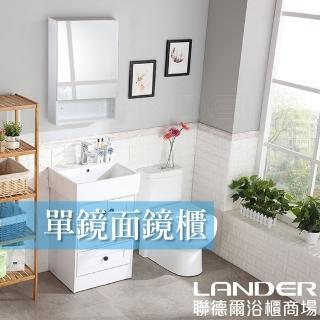 【聯德爾】頂級豪華型單鏡面鏡櫃(48公分)