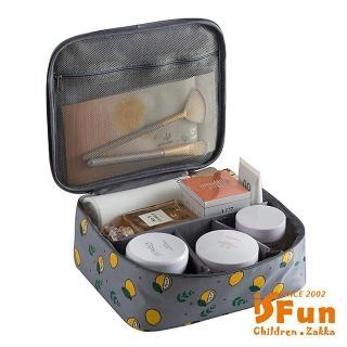 【iSFun】立體鋪棉*動物盥洗化妝箱包/多色可選
