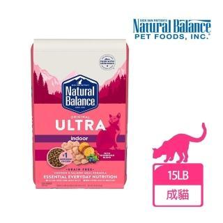 【Natural Balance】特級室內貓調理配方-15磅(室內貓 貓飼料 飼料)