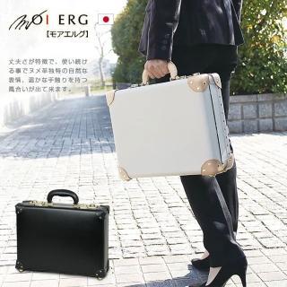 【MOIERG】Fashion風尚男人Suitcase_S-16吋_2色可選(16吋皮箱)