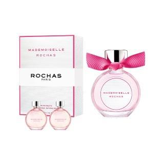 【ROCHAS】羅莎小姐淡香水50ml(加贈隨機小香*2.公司貨)