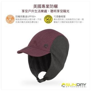 【美國Sunday Afternoons】抗UV防潑可折疊2用刷毛飛行帽 醬紅 Shasta(SAS3A89421B-451-03)