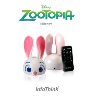 【InfoThink】Zootopia USB兔子燈(附遙控器)