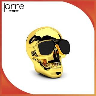 【Jarre】AeroSkull HD 骷髏頭 高音質無線藍牙喇叭(金/黑)