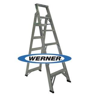 【WERNER】美國Werner穩耐安全鋁梯-DP366AZ 鋁合金兩用梯/A字梯/直馬梯