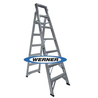 【WERNER】美國Werner穩耐安全鋁梯-DP367AZ 鋁合金兩用梯/A字梯/直馬梯