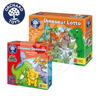 【Orchard Toys】幼兒桌遊-恐龍迷珍藏組合(配對記憶與觀察遊戲)