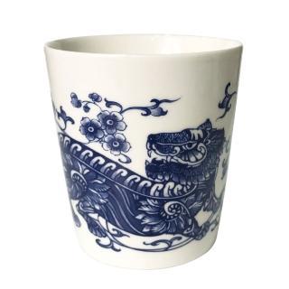 【青花皇后楊莉莉】生肖杯-虎(正氣虎爺)