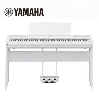 【YAMAHA 山葉】P515 WH 88鍵標準木質琴鍵電鋼琴 旗艦機種 典雅白色(原廠公司貨 商品保固有保障)